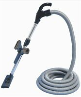 Silent Master Sm1&2 Ducted Vacuum Cleaner Switch Hose & Tool Kit 15m Silver Hose