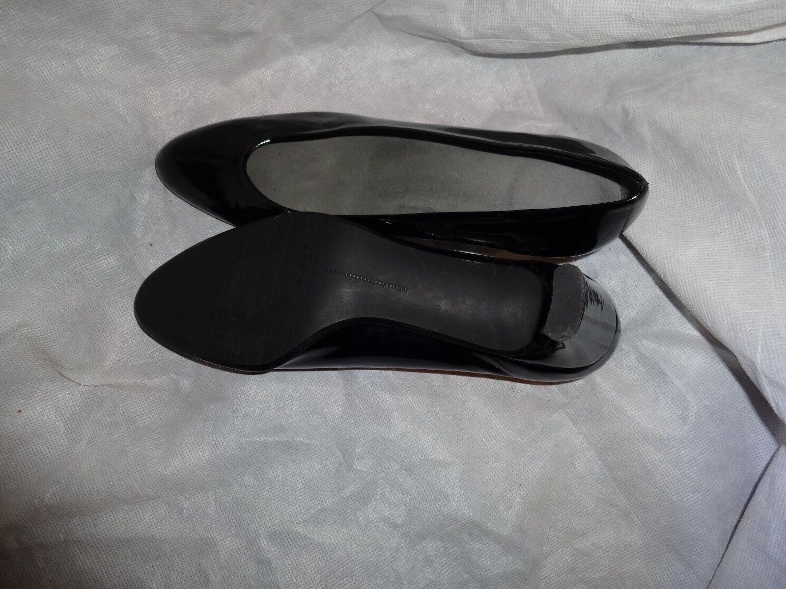 STUART WEITZMAN WOMEN BLACK LEATHER UK SLIP ON Schuhe SIZE UK LEATHER 7 EU 40 US 10 VGC c5c2cc