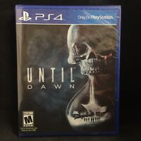 Until Dawn (sony Playstation 4, 2015) Brand / Region Free