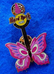 San-Diego-USA-Rosa-Tatuaggio-Farfalla-Chitarra-Serie-2004-Rigida-Rock-Cafe-Perno