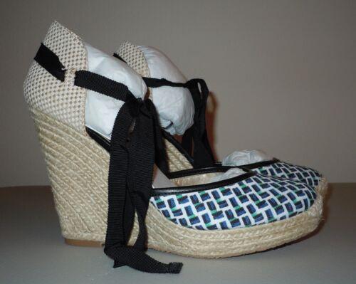 7 verde Espadrilla blu Market White Black House caviglia pennino 125 5 con Zeppa xHI01Ifz