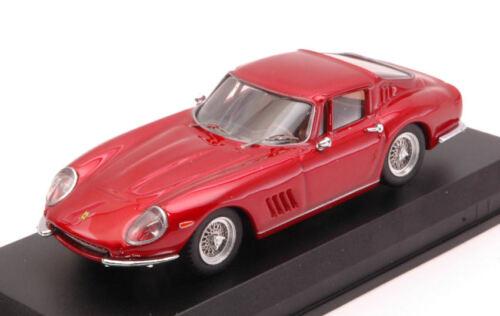 Ferrari 275 Gtb//4 1966 Red Metallic 1:43 Model BEST MODELS