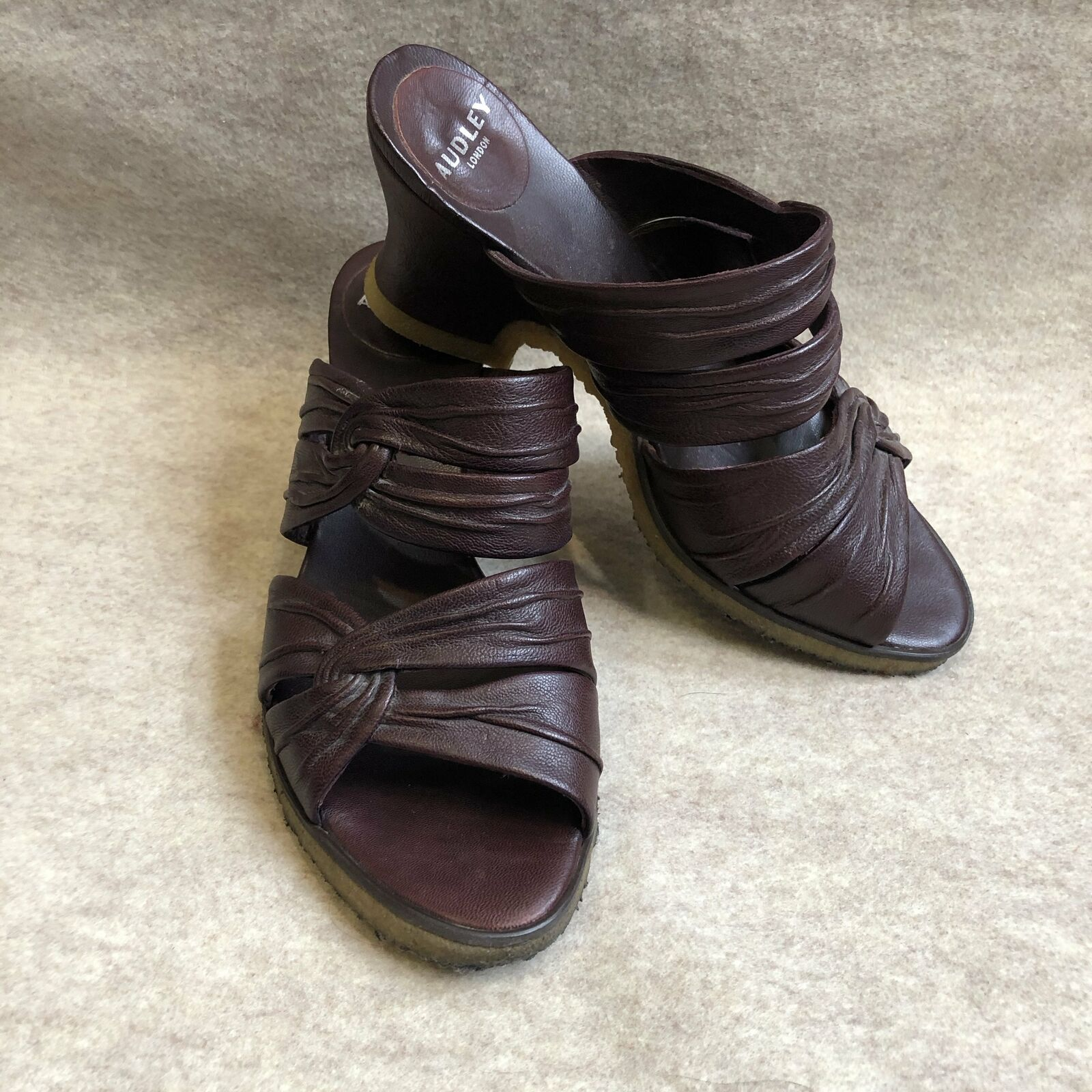 Audley Leather Mules 7-7.5
