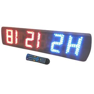 crossfit digital wall timer clock mma tabata crossfit circuitsimage is loading crossfit digital wall timer clock mma tabata crossfit