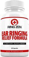 Ringzen - Tinnitus Relief To Stop Ringing Ears. 60 Caps