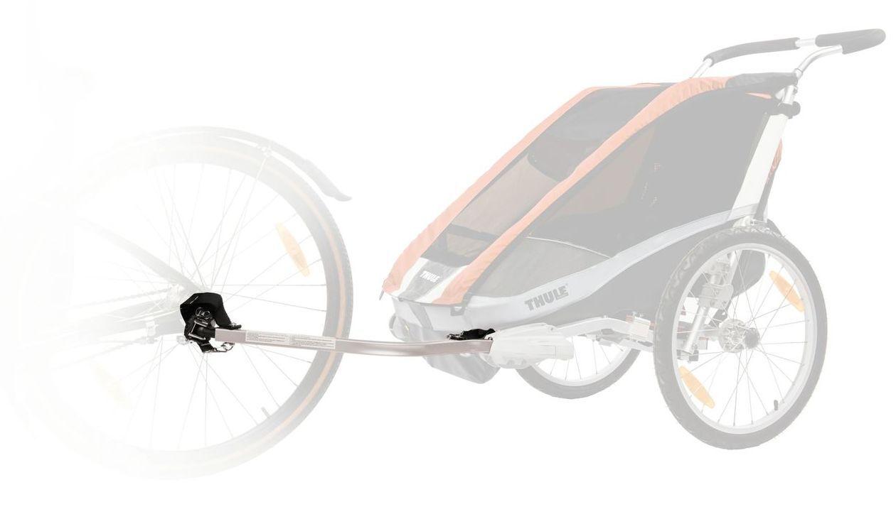 Kinderanhänger Thule burgundy Chariot CX 2 burgundy Thule Modell 2016 + Fahrrad-Set | 10101324 e0d79f