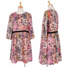 Paul Smith Switching Flower pattern dress Size 40(K-29308)