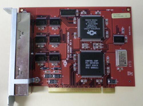 /& Warranty Comtrol 96350-9 Rocketport PCI 8J 5 Available