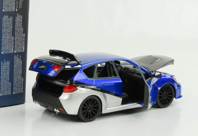 Brian `S Subaru Impreza Wrx Sti like and & Furious 7 1:24 Jada
