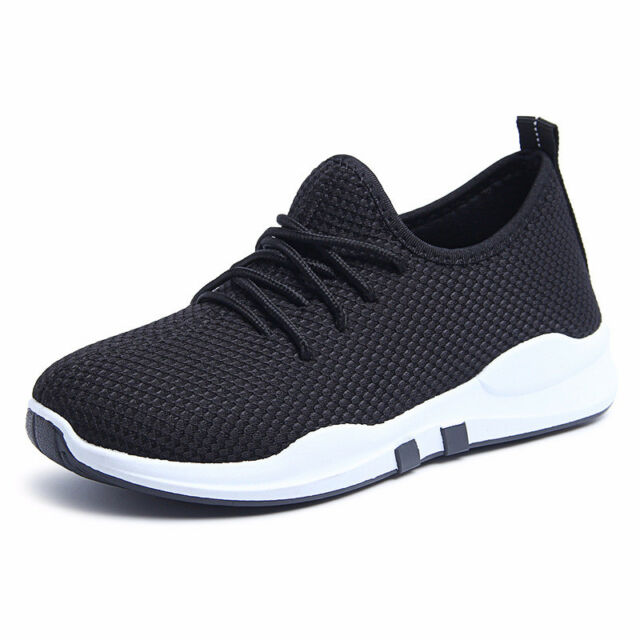 Womens Lace Up Low Top Sneaker Running Shoes Fashion Athletic Flat Outside Comfy