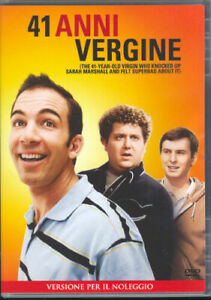 41 anni vergine (2010) - DVD nuovo sigillato, bollino noleggio