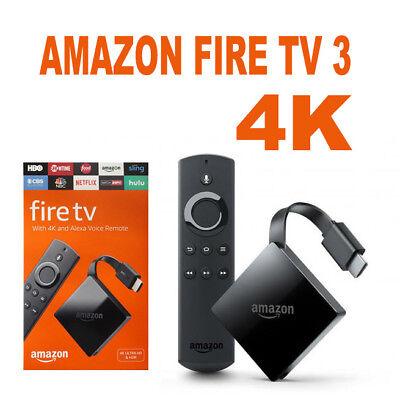 Amazon Fire TV (3rd Generation) with HD Antenna - Black   eBay