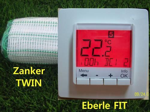 Zanker Elettrici Riscaldamento Pavimento 7,0 qm /& Eberle