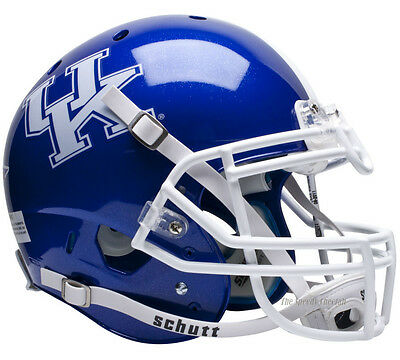 KENTUCKY WILDCATS BLUE SCHUTT XP AUTHENTIC FOOTBALL HELMET