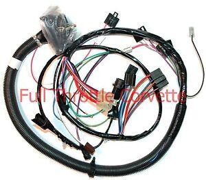 1980 corvette engine wiring harness auto trans w o locking torque converter ebay. Black Bedroom Furniture Sets. Home Design Ideas