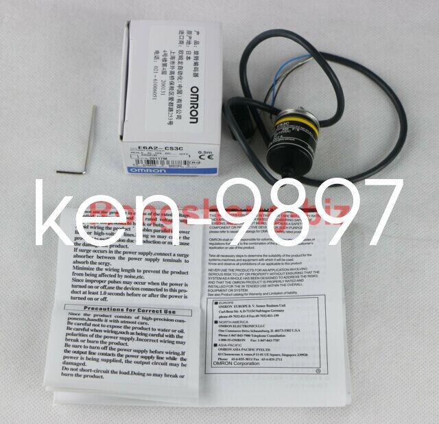 1pcs New OMRON Rotary Encoder E6A2-CW3C 200P//R E6A2CW3C