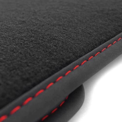 NEU LKW Fußmatten Volvo FM Fahrerhaus Zubehör Tuning Autoteppich Ziernaht Rot