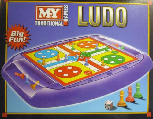 Mini Game LudoTraditional Family Board Game Kids Fun Activity