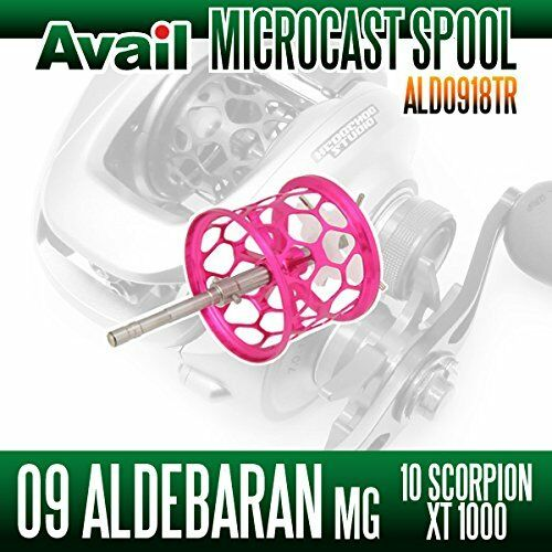 Avail SHIMANO Honeycomb Spool Trout Special ALD0918TR for ALDEBARAN Mg PINK
