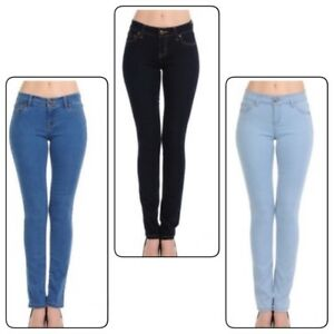 j'aime 90000 bouton Jeans moyenne boutonné femme un culottes Waxjean skinny taille avec que pour pqO1w7wx