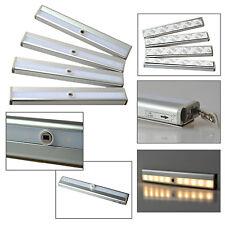 4x LED Unterbauleuchte Lichtleiste Schrankbeleuchtung mit Bewegungsmelder