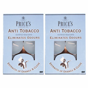 2-x-Pack-of-6-PRICES-Scented-Anti-Tobacco-Tealights-Candles