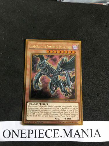 X the dragon of demolition MVP1-ENG49 Yu-Gi-OH Gandora MVP1-FRG49