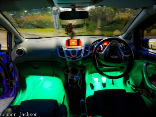ford fiesta mk7 ST interior light bulb kit for modified cars coloured bulbs