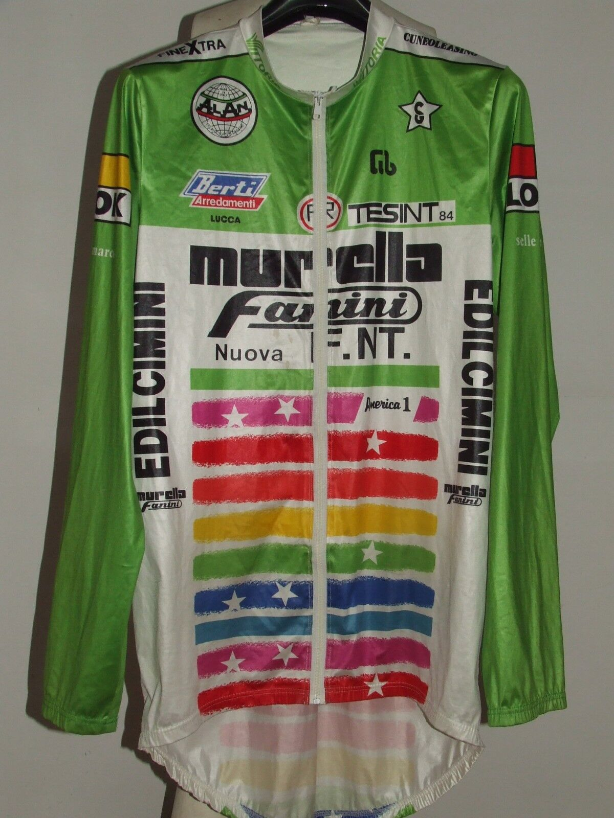 MAGLIA BICI GIACCA CICLISMO SHIRT SPORT MANTELLINA  MURELLA FANINI tg. XXL  for your style of play at the cheapest prices