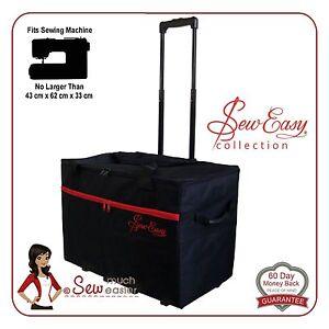 Sewing Machine Trolley Bag XL fits Janome Singer Brother Bernina ... 9e0d6cac5efde