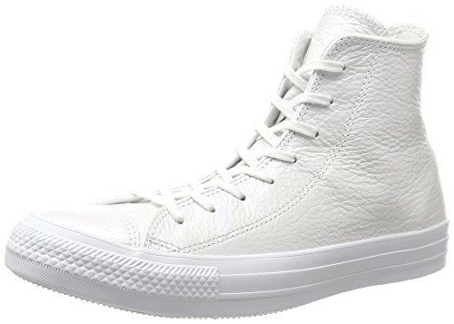 Converse Ct All Star Hi Iridescent Trainers. White Leather 3.5 UK 36 EU
