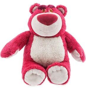 Disney Store Toy Story Lotso Strawberry Profumati Medium Bear MORBIDO peluche NUOVO