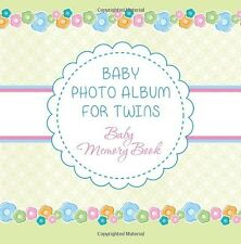 Baby Photo Album for Twins: Baby Memory Book NEW BOOK