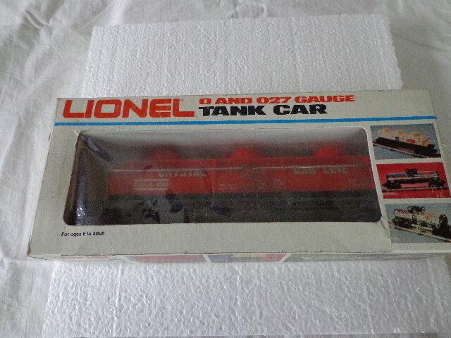 LIONEL  O  0 27 CRYSTAL 3 DOME TANK CAR C.C.L.X. 9363