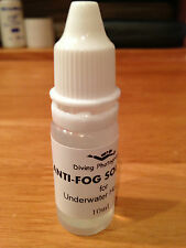 Anti-fog solution (lens cleaner) for Underwater Swimming Diving Case Housing