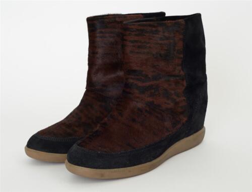 Stivali Animale Isabel Marant Sneaker Camoscio Ponyhair Babuccia Facile Tigre 06z7xT