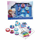 Disney Frozen STAMPS Set With Pads Paper and Pens 30pcs CFRO023