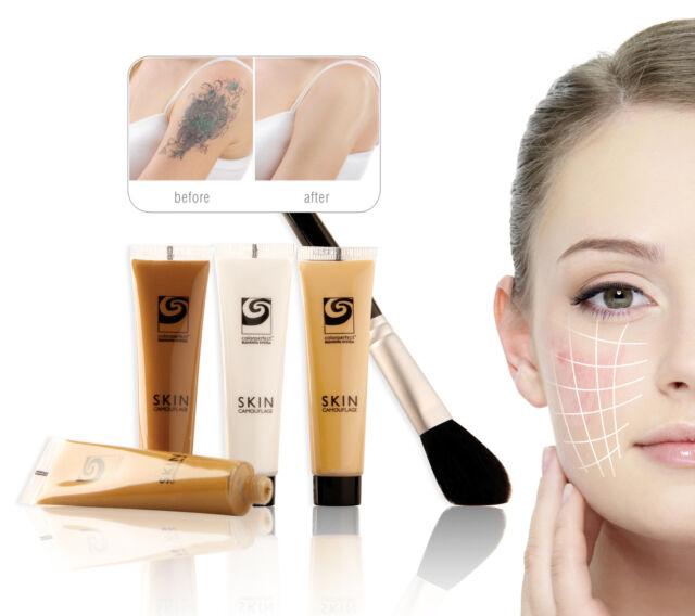 Rio Skin Camouflage Tattoo Scar Birthmark Cover Up Makeup Cream Concealer