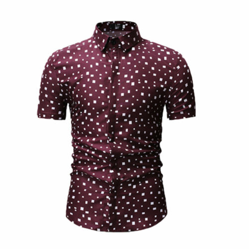 Men/'s Slim Fit V Neck Short Sleeve Stylish Formal Tee T-shirt Casual Tops Shirts