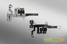 iPhone 4s Audio Jack Flex Volume Mute Kabel laut leise schwarz