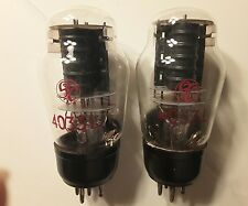2 Tube 4033L STC 1940s  black plate CV1220 3B/252B Output Valve ~ SE Amplifier
