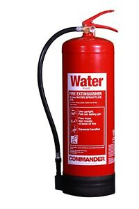 NEW 9 LTR WATER FIRE EXTINGUISHER