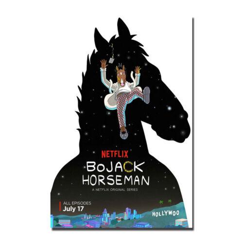 Bojack Horseman Poster Netflix TV Series Art Silk Poster 13x20 24x36 inch