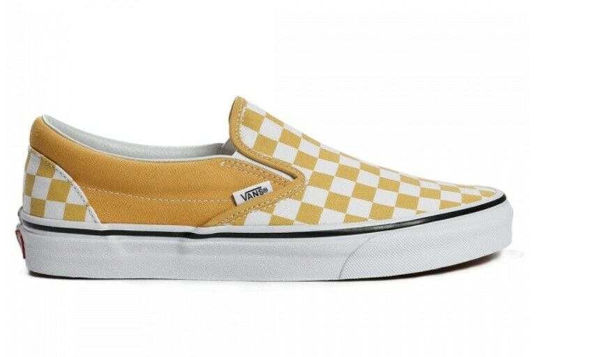 Vintage vans classic slip on shoes VN0A38F7QCP1 yellow