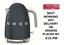 New 2 Year Warranty Smeg KLF03GRUK Slate Grey 50/'s Retro Style 3Kw Kettle