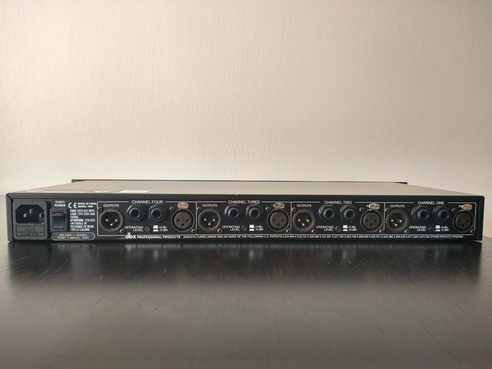 4 channel Compressor/Limiter, dbx 1046