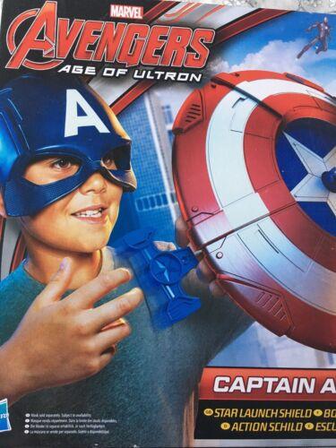Brsnd NUOVO Marvel SUPER EROI CAPITAN AMERICA SCUDO Lanciatore di azione GIOCATTOLO HASBRO