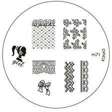 Konad stamping stencil m71 NAILART NUOVO