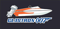 Glastron Boat James Bond 007 T Shirt Carlson Tee T-shirt Live And Let Die Jump