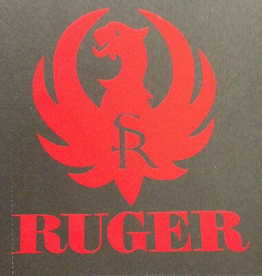 RUGER FIREARMS PHOENIX LOGO VINYL DECAL STICKER GUN 30-06 243 RIFLE PATCH SR15